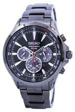 Seiko Solar Chronograph Tachymeter Men's Watch SSC497P1