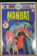 Man-Bat #1 (Dec 1975-Jan 1976, DC) VF/NM