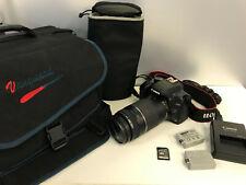 Canon EOS Digital Rebel XS / EOS 1000D 10.1MP Digital SLR Camera - 75-300mm lens