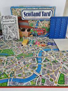 Scotland Yard Family Board Game Vintage 1983 Ravensburger Complete