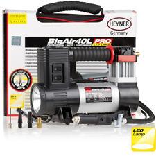 Premium heavy duty 12V air compressor 40L 100PSI tyre inflator LED LAMP HEYNER®