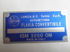 Lancia Nameplate Flavia Convertible S6