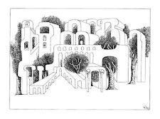 """""""Urbane Natur"""",  Tuschezeichnung, Original"""