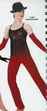 Dance Costume Tap Jazz Jumpsuit Skate Heartbreaker