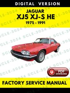 Service Repair Manuals For Jaguar Xjs For Sale Ebay