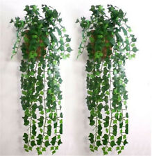 2.4M Artificial Ivy Leaf Plants Vine Fake Foliage Home Dec Garland Flower