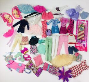 Bulk Barbie Clothes 75+ Pieces