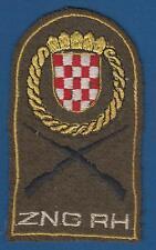 ZNG RH Zbor narodne garde, Croatian National Guard, patch 1990s - Croatian Army