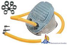 Schlauchbootpumpe Fussblasebalg Pumpe Luftpumpe Bravo 1 oder 2