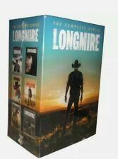 LONGMIRE Complete Series Collection Seasons 1-6 DVD Season 1 2 3 4 5 6 - 1-5 + 6