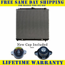 Radiator With Cap For Nissan Fits Frontier Pathfinder Xterra 4.0 5.6  2807WC