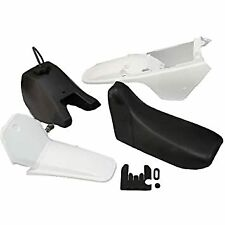 Yamaha PW80 all years full plastic kit with tank and seat. uk stock. white