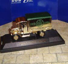 Lledo-televisión BBC 60 años Ltd editn 1926 Dennis van de entrega Oro Metálico