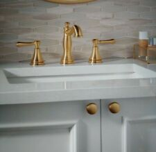 """Delta Cassidy 8"""" Widespread 2-Handle Bathroom Faucet 3597LF-CZMPU #D31"""