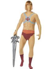 He Man Heman Second Skin Kostüm Masters of the universe Herren Gr M