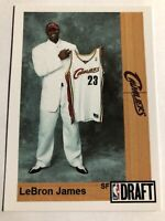 LEBRON JAMES 2003-04 DRAFT DAY ROOKIE PROMO ACEO BASKETBALL CARD