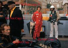 Mario Andretti JPS Lotus 78 Monaco Grand Prix 1977 Photograph 4