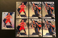 NICOLO MELLI 2019-20 MOSAIC SILVER PRIZM, BASE + NBA DEBUT ROOKI CARD (7) LOT!