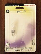 2 GE 35-Watt 12-Volt GY6.35 Halogen BI-PIN Light Bulb GY 6.35 / 12V - NEW