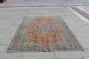 Turkey Rug, Turkish Colorful  Wool Area Rectangle Red Turkish Bathroom Rug