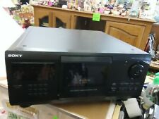 SONY MEGA STORAGE 200 CD COMPACT DISC PLAYER MODEL CDP CX205