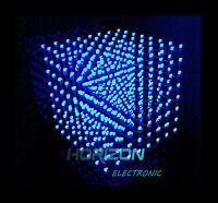 3D LightSquared DIY Kit 8x8x8 3mm LED Cube Blue Ray LED