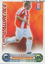 LIAM LAWRENCE IRELAND STOKE CITY.FC PAOK.SALONIKI CARD PREMIER LEAGUE 2009 TOPPS