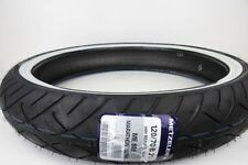 metzler me888 front whitewall high mileage tire harley flstn