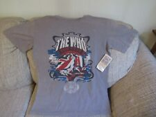 """Mens Rock & Roll Hall of Fame Museum """"The Who"""" Graphic Tee Size Large Nwt"""