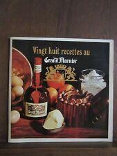 Vingt huit recettes au Grand Marnier