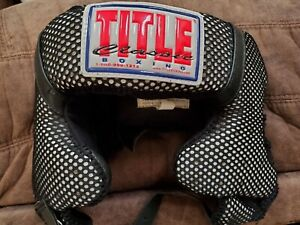 Title Boxing Full Face Training Headgear - black