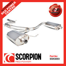 Scorpion Non Resonated Cat Back Exhaust SKODA OCTAVIA VRS 2.0 TSI - SSKS003