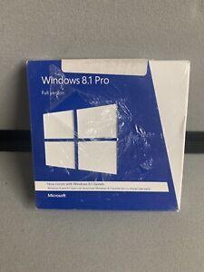 Microsoft Windows 8.1 Pro Full Version_32/64-bit Brand New