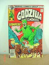 GODZILLA KING of the MONSTERS  ROAM ON THE RANGE #15 OCT 1978