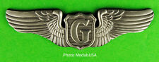 """Army Air Corps GLIDER PILOT AAF WWII 2 3/4"""" Wing USAAF"""
