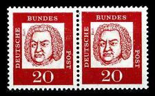 BUND bed. Deutsche (y)   20  Pf. **, Mi. 352 - im Paar, postfrisch Luxus
