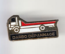 RARE PINS PIN'S .. CAMION TRUCK  DEPANNAGE DEPANNEUSE GRUE PLATEAU DARBO ~BL