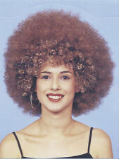 Vestido de lujo señoras Beyonce Afro Década de 1960 años 70 disco Foxxy Cleopatra poderes de la peluca