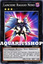 Yu-Gi-Oh! Lanciere Raggio Nero Italiano SP13-IT029 Black Ray Lancer Carta Shark