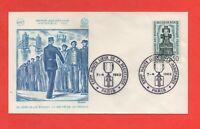 FDC - 1962 - A la mémoire des résistants de l'île de Sein  (737)