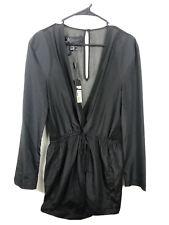 New NWT Kardashian Kollection Shear Dress Womens Cut Out Black Sz L Party 998