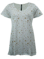 Stars Scoop Neck Tops & Shirts for Women