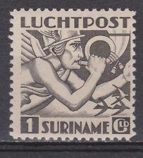 Luchtpost LP 22 MLH ong Suriname 1941 Mercuriuskop Engelse druk airmail