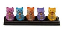 Figurine Chat Japonais Maneki Neko Prosperite en Polystone -CA4-32