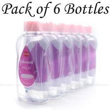 Johnson's Baby Oil 200ml Hypoallergenic Moisture Bath Massage Pack of 6 Bottles
