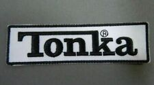 """NEW Tonka Brand EMBROIDERED IRON-ON PATCH 3.75"""" x 1"""""""