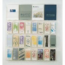 Wall Mount 28 Pocket Combination Magazine and 4x9 Brochure Display System