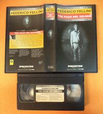VHS film TRE PASSI NEL DELIRIO grande cinema Federico Fellini Stamp(F237) no dvd
