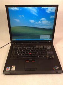 IBM ThinkPad R52 Pentium M 1.7GHz 1GB 30GB CD/Floppy Windows XP Pro - ZZ