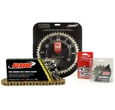 Gold X-Ring Chain Black Rear Front Sprocket Kit Kawasaki KX250 1999 2000 2001